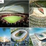 مجموعه کامل عکس استادیوم های خورشیدی قطر برای جام جهانی سال 2022 2