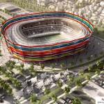 مجموعه کامل عکس استادیوم های خورشیدی قطر برای جام جهانی سال 2022 16
