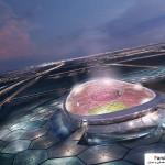 مجموعه کامل عکس استادیوم های خورشیدی قطر برای جام جهانی سال 2022 7