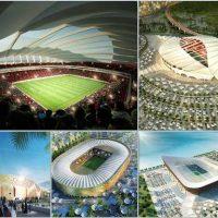 مجموعه کامل عکس استادیوم های خورشیدی قطر برای جام جهانی سال 2022 1