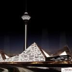 فاز دوم برج میلاد در دستان گروه معماری زاها حدید 16