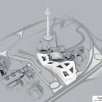 فاز دوم برج میلاد در دستان گروه معماری زاها حدید 7