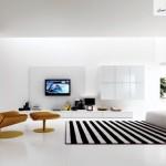 28 ایده فوق العاده زیبای طراحی اتاق نشیمن ، حال و پذیرایی 26
