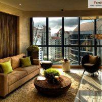 28 ایده فوق العاده زیبای طراحی اتاق نشیمن ، حال و پذیرایی 1