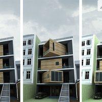 پروژه مسکونی خانه شریفی ها 1