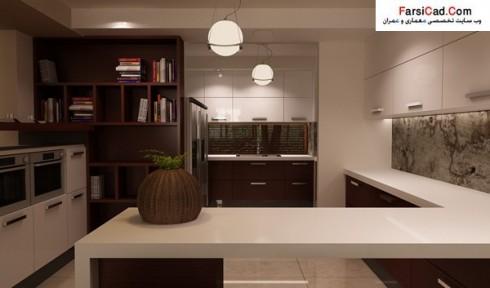 طراحی داخلی - دکوارسیون داخلی مسکونی - طرح ساختمان - نقشه ساختمان - نمای داخلی ساختمان - مبلمان