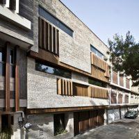 پلان خانه مسکونی - ساختمان مسکونی اصفهان - نقشه ساختمان - نمای ساختمان - نمای سنگی - نمای جدید - نمی ترکیبی - پلان - نقشه