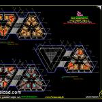 پلان دانشکده معماری - نقشه دانشکده معماری - سه بعدی دانشکده معماری