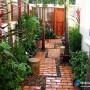 مجموعه 101 عکس محوطه سازی ویلایی و مسکونی ( حیاط ) - طراحی محوطه آلاچیق ، استخر ، سنگ فرش و ... 18
