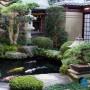 مجموعه 101 عکس محوطه سازی ویلایی و مسکونی ( حیاط ) - طراحی محوطه آلاچیق ، استخر ، سنگ فرش و ... 21