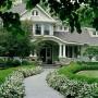 مجموعه 101 عکس محوطه سازی ویلایی و مسکونی ( حیاط ) - طراحی محوطه آلاچیق ، استخر ، سنگ فرش و ... 26