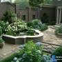 مجموعه 101 عکس محوطه سازی ویلایی و مسکونی ( حیاط ) - طراحی محوطه آلاچیق ، استخر ، سنگ فرش و ... 27