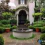 مجموعه 101 عکس محوطه سازی ویلایی و مسکونی ( حیاط ) - طراحی محوطه آلاچیق ، استخر ، سنگ فرش و ... 37