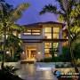 مجموعه 101 عکس محوطه سازی ویلایی و مسکونی ( حیاط ) - طراحی محوطه آلاچیق ، استخر ، سنگ فرش و ... 2