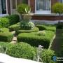 مجموعه 101 عکس محوطه سازی ویلایی و مسکونی ( حیاط ) - طراحی محوطه آلاچیق ، استخر ، سنگ فرش و ... 71