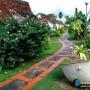 مجموعه 101 عکس محوطه سازی ویلایی و مسکونی ( حیاط ) - طراحی محوطه آلاچیق ، استخر ، سنگ فرش و ... 76