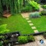 مجموعه 101 عکس محوطه سازی ویلایی و مسکونی ( حیاط ) - طراحی محوطه آلاچیق ، استخر ، سنگ فرش و ... 77