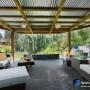 مجموعه 101 عکس محوطه سازی ویلایی و مسکونی ( حیاط ) - طراحی محوطه آلاچیق ، استخر ، سنگ فرش و ... 89