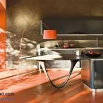 جدیدترین طرح های کابینت آشپزخانه ( ام دی اف و های گلاس ) - مدل کابینت MDF high Gloss 7