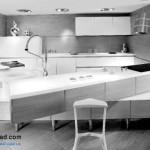جدیدترین طرح های کابینت آشپزخانه ( ام دی اف و های گلاس ) - مدل کابینت MDF high Gloss 12