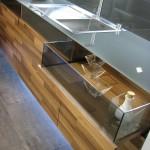 جدیدترین طرح های کابینت آشپزخانه ( ام دی اف و های گلاس ) - مدل کابینت MDF high Gloss 16