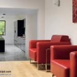 جدیدترین طرح های کابینت آشپزخانه ( ام دی اف و های گلاس ) - مدل کابینت MDF high Gloss 20