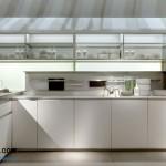 جدیدترین طرح های کابینت آشپزخانه ( ام دی اف و های گلاس ) - مدل کابینت MDF high Gloss 22