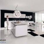 جدیدترین طرح های کابینت آشپزخانه ( ام دی اف و های گلاس ) - مدل کابینت MDF high Gloss 32
