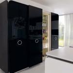 جدیدترین طرح های کابینت آشپزخانه ( ام دی اف و های گلاس ) - مدل کابینت MDF high Gloss 33