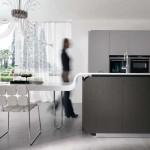جدیدترین طرح های کابینت آشپزخانه ( ام دی اف و های گلاس ) - مدل کابینت MDF high Gloss 36