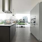 جدیدترین طرح های کابینت آشپزخانه ( ام دی اف و های گلاس ) - مدل کابینت MDF high Gloss 39