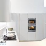 جدیدترین طرح های کابینت آشپزخانه ( ام دی اف و های گلاس ) - مدل کابینت MDF high Gloss 3