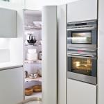 جدیدترین طرح های کابینت آشپزخانه ( ام دی اف و های گلاس ) - مدل کابینت MDF high Gloss 4