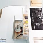 جدیدترین طرح های کابینت آشپزخانه ( ام دی اف و های گلاس ) - مدل کابینت MDF high Gloss 5
