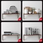 دانلود مجموعه آبجکت های تزئینات آشپزخانه ، حال، پذیرایی و اتاق خواب - Evermotion Archmodels Vol 134 4