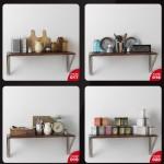 دانلود مجموعه آبجکت های تزئینات آشپزخانه ، حال، پذیرایی و اتاق خواب - Evermotion Archmodels Vol 134 5