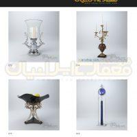مجموعه 100 مدل وسایل دکوری و تزئینات داخلی منزل ( آبجکت تری دی مکس - vray - متریال و تکسچر ) 5