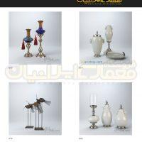 مجموعه 100 مدل وسایل دکوری و تزئینات داخلی منزل ( آبجکت تری دی مکس - vray - متریال و تکسچر ) 6