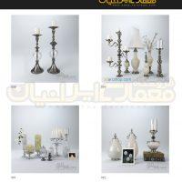 مجموعه 100 مدل وسایل دکوری و تزئینات داخلی منزل ( آبجکت تری دی مکس - vray - متریال و تکسچر ) 9