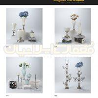 مجموعه 100 مدل وسایل دکوری و تزئینات داخلی منزل ( آبجکت تری دی مکس - vray - متریال و تکسچر ) 10