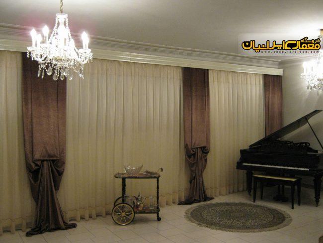 پرده اتاق خواب - پرده پذیرایی - جدیدترین مدل های پرده - پرده سلطنتی