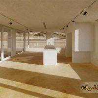 طراحی ویلای 150 متری دوبلکس بسیار زیبا ( نقشه ویلای ایرانی شیب دار شمال کشور ) 8