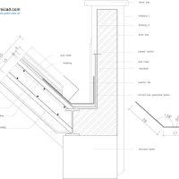 طراحی پلان خانه ویلایی یزد ( نقشه و نمای ساختمان مسکونی در شهر یزد ) اقلیم گرم و خشک 1