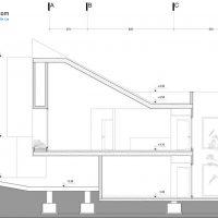 طراحی پلان خانه ویلایی یزد ( نقشه و نمای ساختمان مسکونی در شهر یزد ) اقلیم گرم و خشک 4