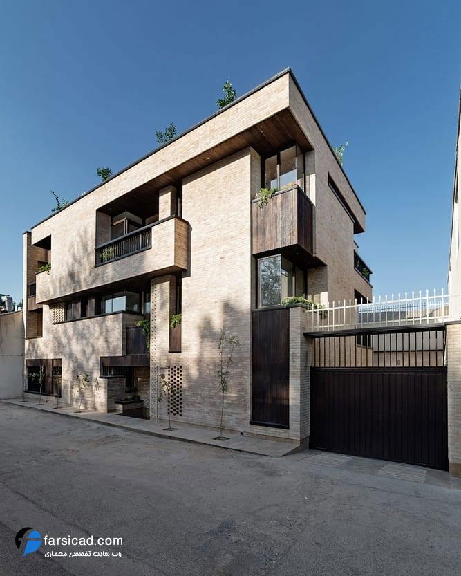 نما - نما ساختمان - نما آپارتمان - نما مسکونی