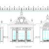 دانلود نقشه نمای رومی اجرایی ( نما رومی آپارتمانی اتوکد ) نمای کلاسیک dwg 2