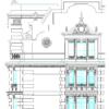 دانلود نقشه نمای رومی اجرایی ( نما رومی آپارتمانی اتوکد ) نمای کلاسیک dwg 3
