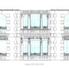 دانلود نقشه نمای رومی اجرایی ( نما رومی آپارتمانی اتوکد ) نمای کلاسیک dwg 5