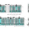 دانلود نقشه نمای رومی اجرایی ( نما رومی آپارتمانی اتوکد ) نمای کلاسیک dwg 9